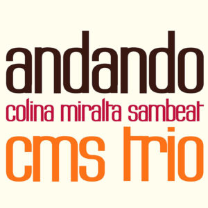 Distritojazz-jazz-discos-Colina & Miralta & Sambeat–Andando