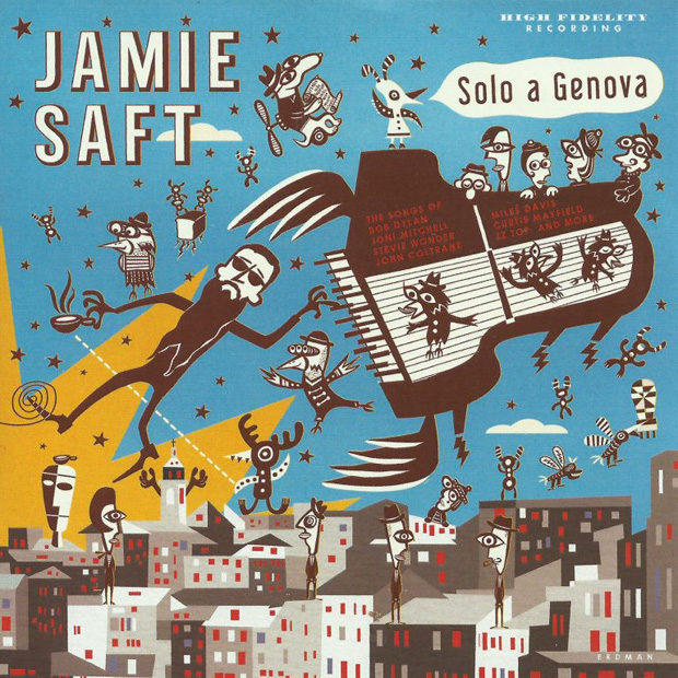 Distritojazz-jazz-discos-Jamie Saft - Solo a Genova