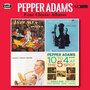 Distritojazz-jazz-discos-Pepper Adams-Four Classic Albums