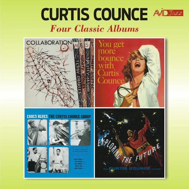 Distritojazz-jazz-discos-curtis counce four classic albums