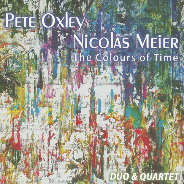 Distritojazz-jazz-discos-pete oxley-nicolas meier-the colours of time