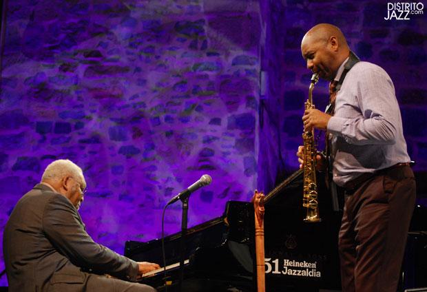 distritojazz-conciertos-jazz-51-Heineken-Jazzaldia-Ellis Marsalis-Brandford Marsalis