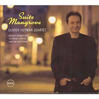 distritojazz_discos_jazz_Olivier_Hutman_Quartet-Suite_mangrove